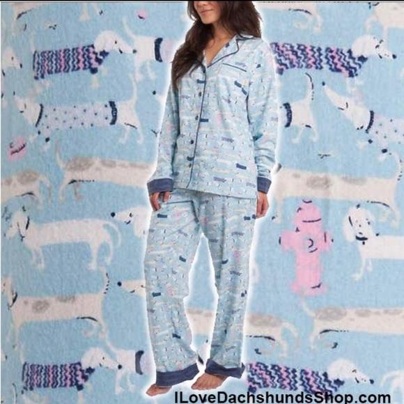 db919f2741 Munki munki Dachshund Pajama Pants Drawstring